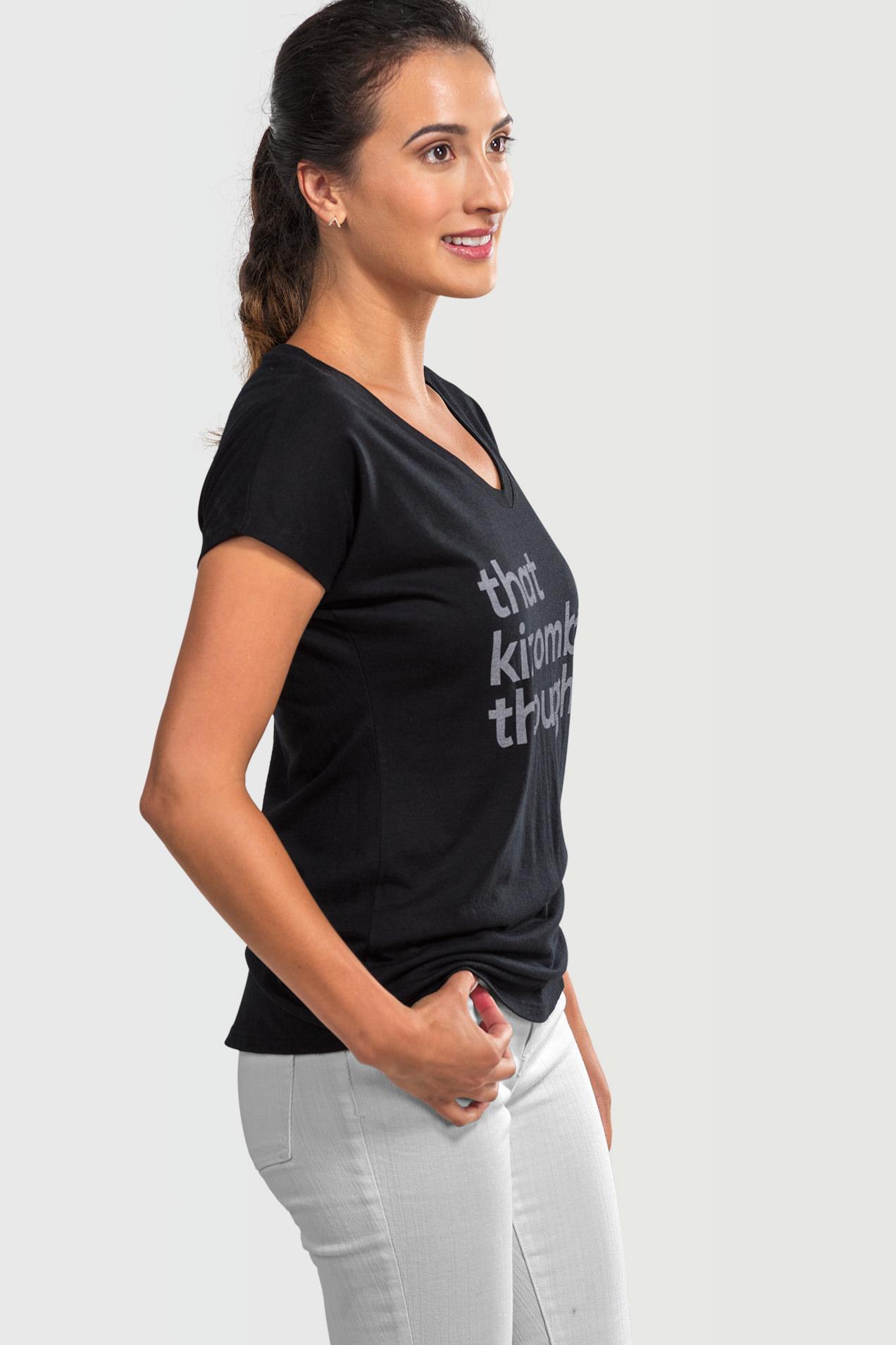 98781a825f29b4 That Kizomba Though - Women's T-shirt - Motion Envy