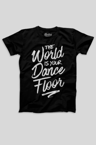 The World Is Your Dance Floor - Men's T-shirt